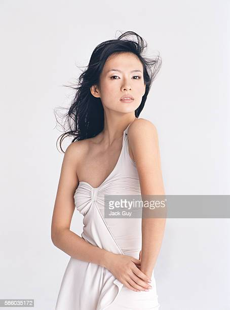 Actress Ziyi Zhang is photographed 2005 in Los Angeles California