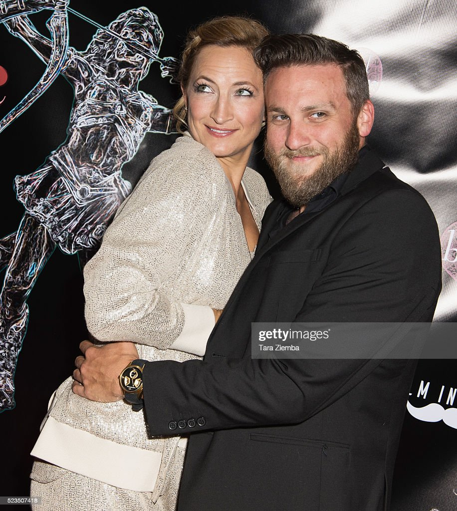 Actress Zoe Bell and Filmmaker Jacob Horn attend the 2nd Annual Artemis Film Festival-Red Carpet Opening Night/Awards Presentation at Ahrya Fine Arts Movie Theater on April 22, 2016 in Beverly Hills, California.
