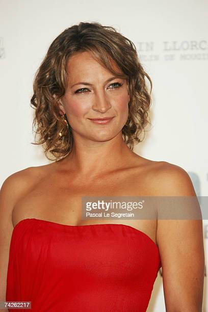 Actress Zoe Bell arrives at the Cinema Against Aids 2007 in aid of amfAR at Le Moulin de Mougins in Mougings on May 23 2007 in Cannes France The...