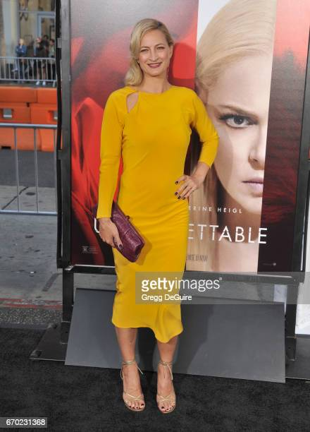 Actress Zoe Bell arrives at the premiere of Warner Bros Pictures' Unforgettable at TCL Chinese Theatre on April 18 2017 in Hollywood California