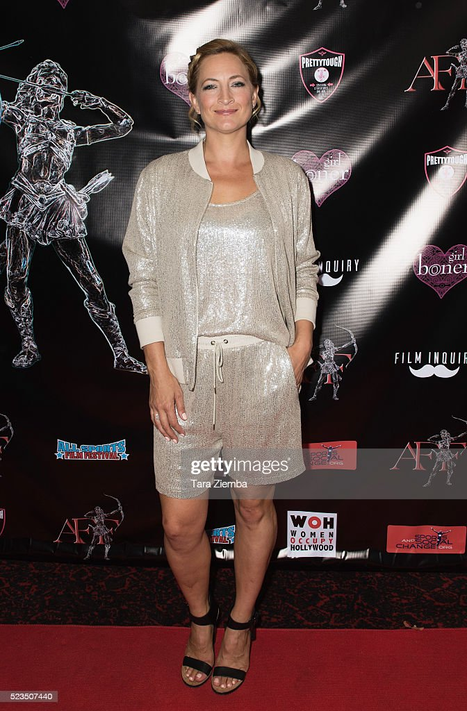 Actress Zoe Bell attends the 2nd Annual Artemis Film Festival-Red Carpet Opening Night/Awards Presentation at Ahrya Fine Arts Movie Theater on April 22, 2016 in Beverly Hills, California.