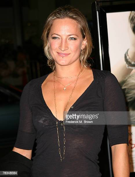 Actress Zoe Bell attends the Warner Bros' film premiere of 'PS I Love You' at Grauman's Chinese Theatre on December 9 2007 in Hollywood California