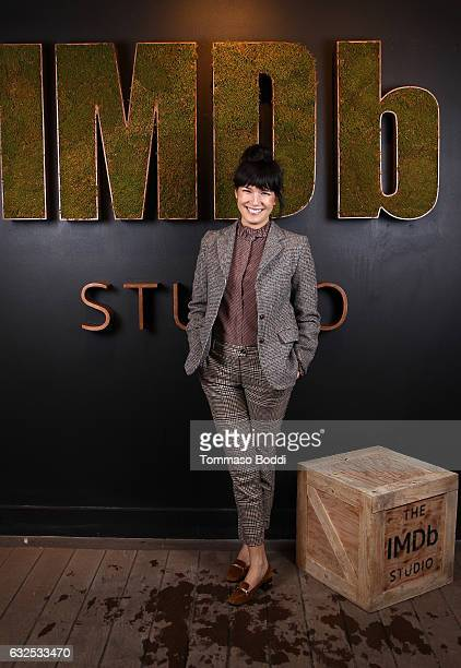 Actress Zoe Chao of Strangers attends The IMDb Studio featuring the Filmmaker Discovery Lounge presented by Amazon Video Direct Day Four during The...