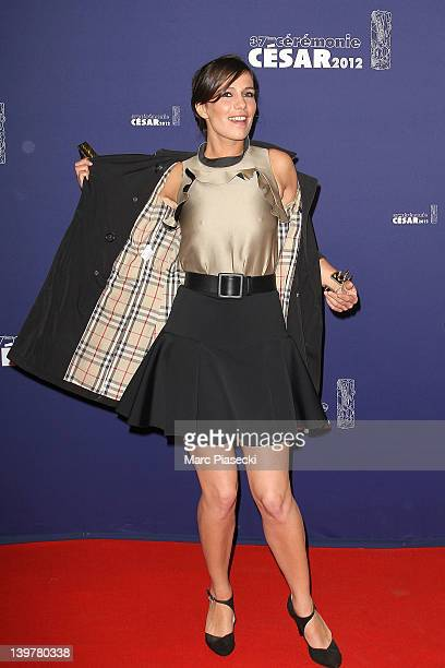 Actress Zoe Felix attends the 37th Cesar Film Awards at Theatre du Chatelet on February 24 2012 in Paris France