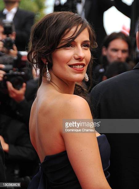 Actress Zoe Felix attends the Che premiere at the Palais des Festivals during the 61st International Cannes Film Festival on May 21 2008 in Cannes...