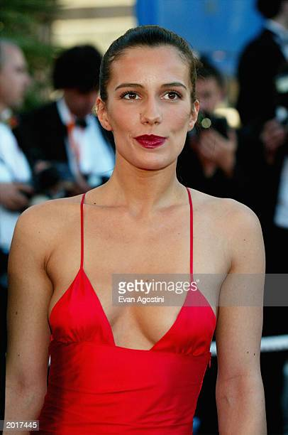 Actress Zoe Felix attends the Le Temp Du Loup screening at the 56th International Cannes Film Festival at the Palais de Festival May 20 2003 in...