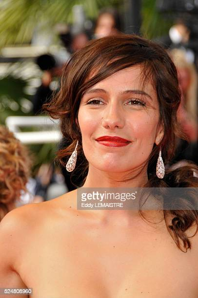 Actress Zoe Felix attends the premiere of Che during the 61st Cannes Film Festival