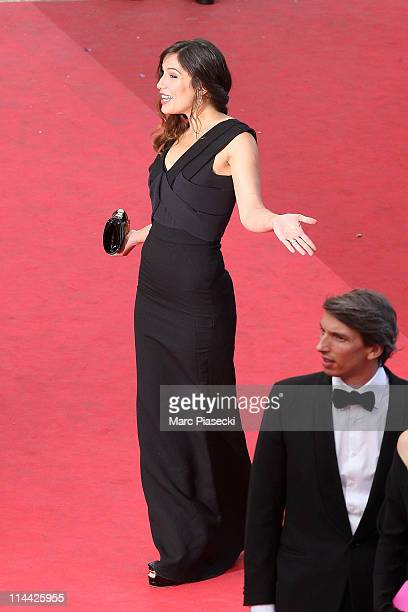 Actress Zoe Felix attends the The Skin I Live In Premiere during the 64th Annual Cannes Film Festival at Palais des Festivals on May 19 2011 in...