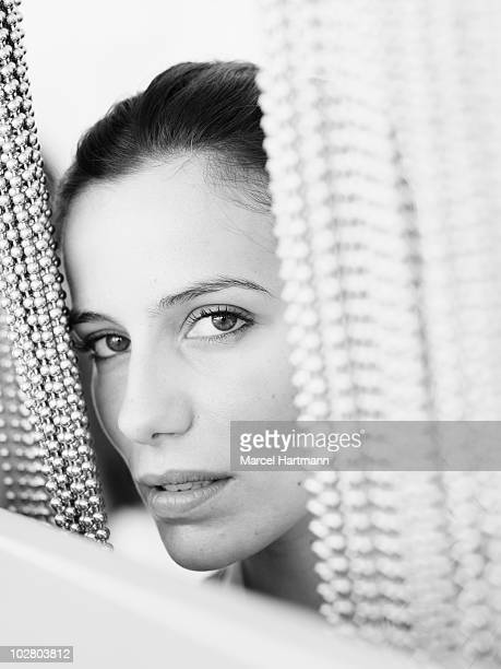 Actress Zoe Felix poses for a portrait shoot in Cannes France