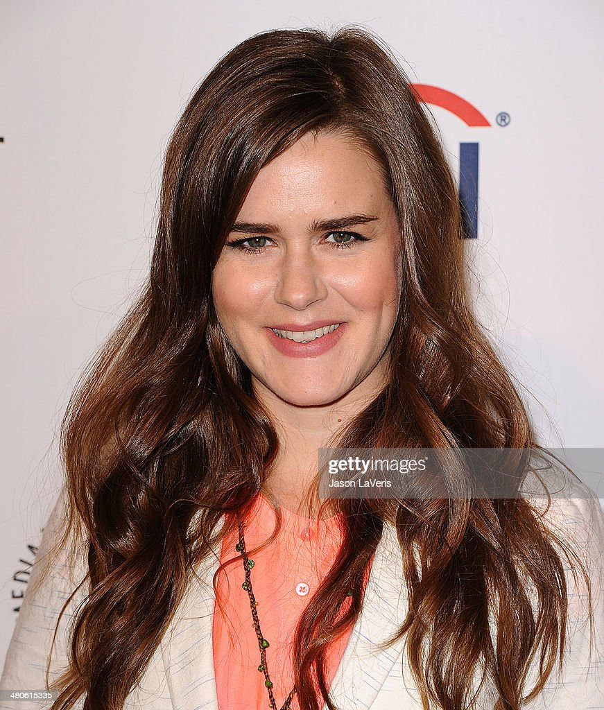 Actress Zoe Jarman attends 'The Mindy Project' event at the 2014 PaleyFest at Dolby Theatre on March 25, 2014 in Hollywood, California.