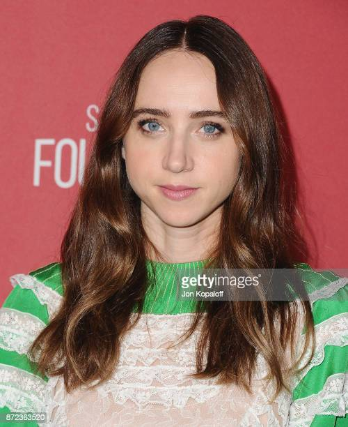 Actress Zoe Kazan arrives at SAGAFTRA Foundation Patron of the Artists Awards 2017 on November 9 2017 in Beverly Hills California