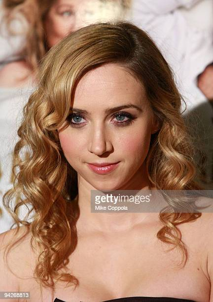 Actress Zoe Kazan attends a screening of 'It's Complicated' at the Chelsea Clearview Cinema 9 on December 10 2009 in New York City