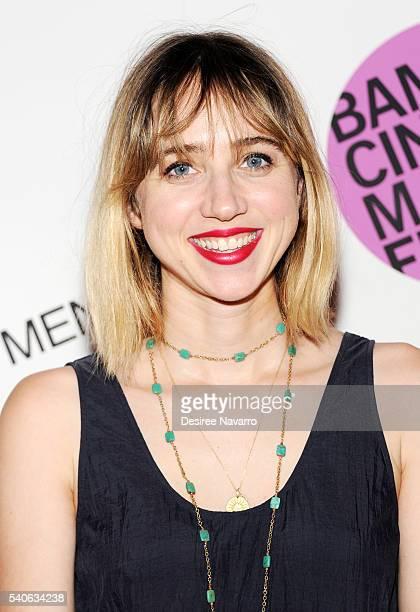 Actress Zoe Kazan attends BAMcinemaFest 2016 Opening Night Premiere Of 'Little Men'at BAM Harvey Theater on June 15 2016 in New York City