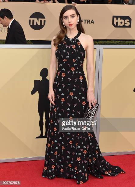 Actress Zoe Kazan attends the 24th Annual Screen Actors Guild Awards at The Shrine Auditorium on January 21 2018 in Los Angeles California