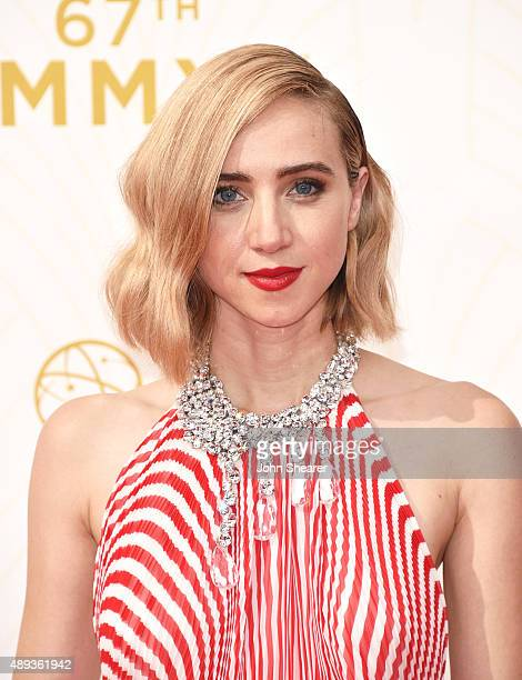 Actress Zoe Kazan attends the 67th Annual Primetime Emmy Awards at Microsoft Theater on September 20 2015 in Los Angeles California