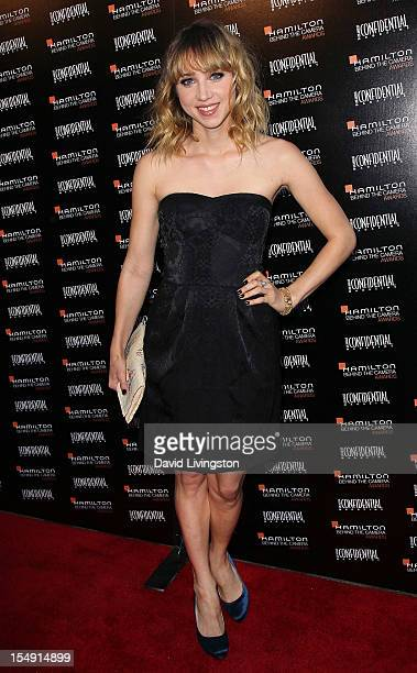 Actress Zoe Kazan attends the 6th Annual Hamilton Behind The Camera Awards presented by Los Angeles Confidential Magazine at the House of Blues...