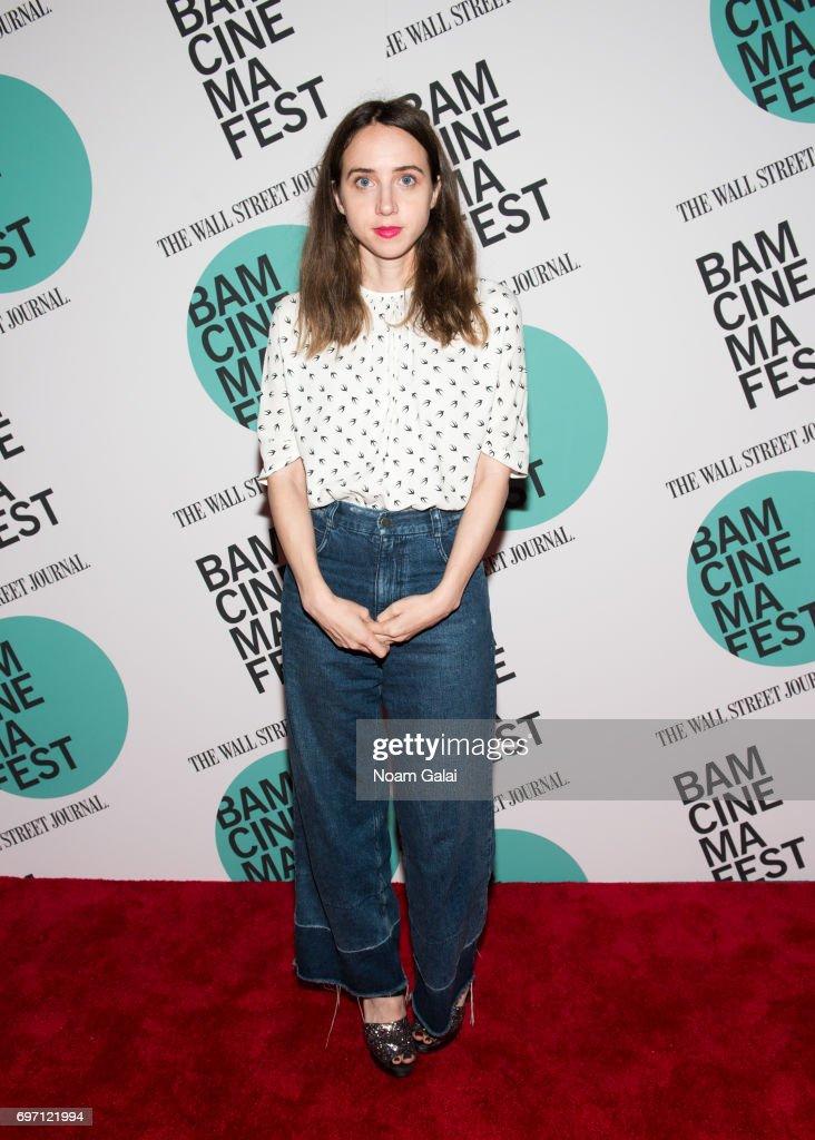 Actress Zoe Kazan attends the BAMcinemaFest 2017 screening of 'Landline' at BAM Harvey Theater on June 17, 2017 in New York City.