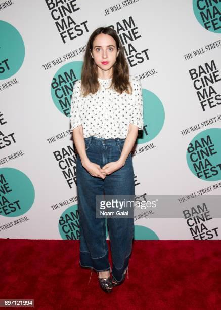 Actress Zoe Kazan attends the BAMcinemaFest 2017 screening of 'Landline' at BAM Harvey Theater on June 17 2017 in New York City