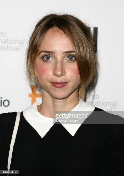 Actress Zoe Kazan attends the Love Mercy premiere during the 2014 Toronto International Film Festival at The Elgin on September 7 2014 in Toronto...