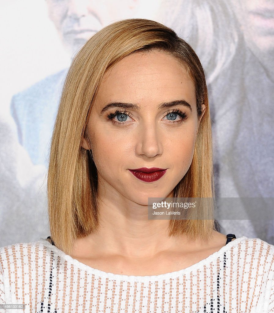 Actress Zoe Kazan attends the premiere of 'Our Brand Is Crisis' at TCL Chinese Theatre on October 26, 2015 in Hollywood, California.