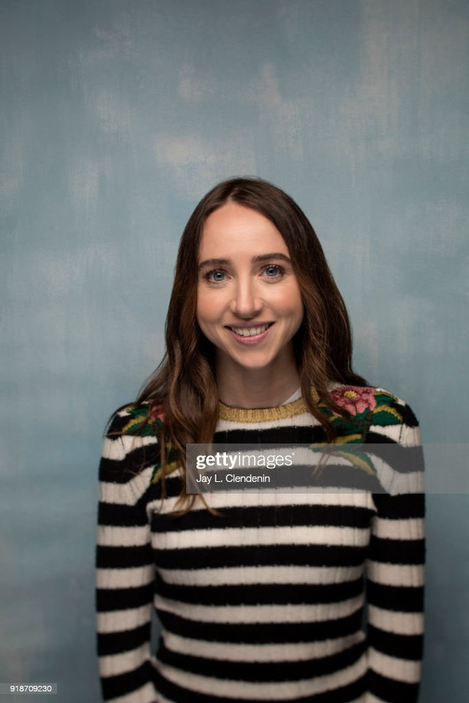 Actress Zoe Kazan, from the film 'Wildflower', is photographed for Los Angeles Times on January 19, 2018 in the L.A. Times Studio at Chase Sapphire on Main, during the Sundance Film Festival. PUBLISHED IMAGE.