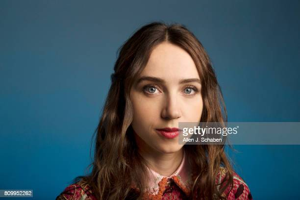 Actress Zoe Kazan is photographed for Los Angeles Times on June 14 2017 in Los Angeles California PUBLISHED IMAGE CREDIT MUST READ Allen J SchabenLos...