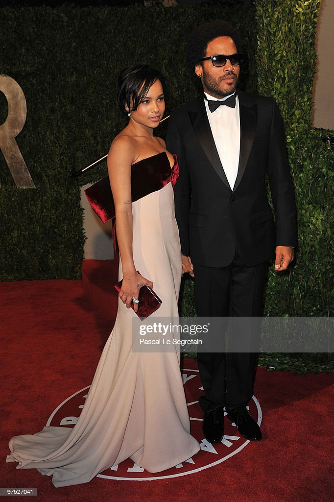 Actress Zoe Kravitz And Musician Father Lenny Kravitz Arrive