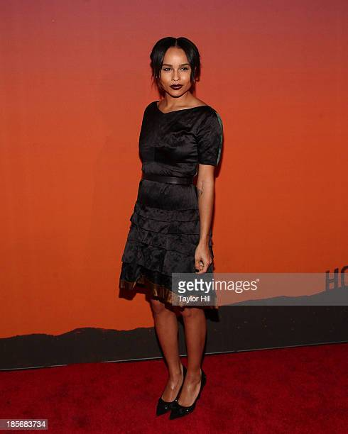 Actress Zoe Kravitz attends the 2013 Whitney Gala and Studio party at Skylight at Moynihan Station on October 23, 2013 in New York City.