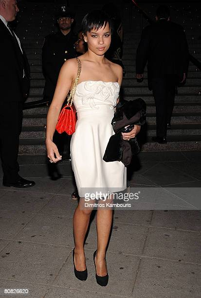 Actress Zoe Kravitz attends the 7th Annual Tribeca Film Festival Vanity Fair Party at the State Supreme Courthouse on April 22 2008 in New York City
