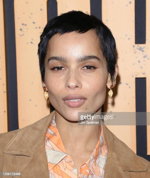 "Actress Zoe Kravitz attends the Hulu's ""High Fidelity"" New York premiere at Metrograph on February 13, 2020 in New York City."