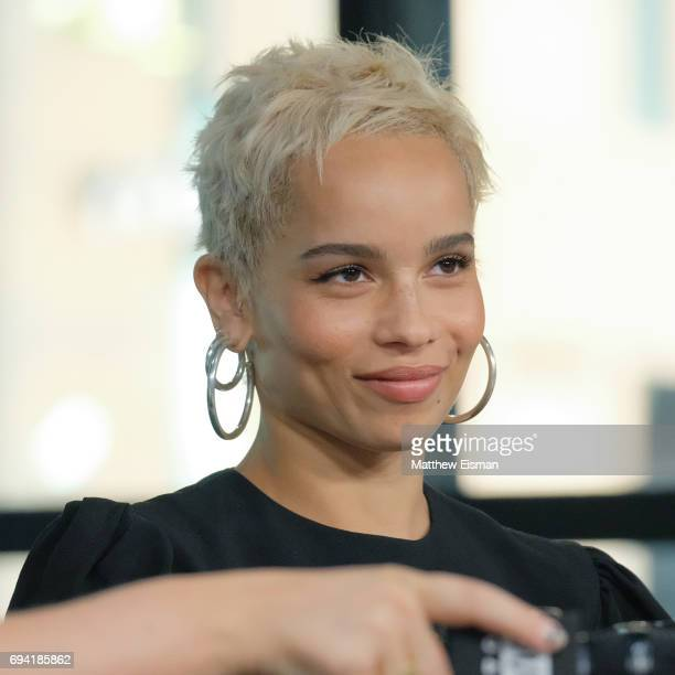 Actress Zoe Kravitz discusses the new film 'Rough Night' at Build Studio on June 9, 2017 in New York City.