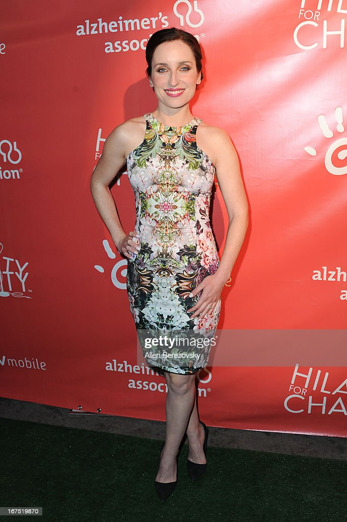 Actress Zoe Lister Jones arrives at Hilarity For Charity fundraiser benefiting The Alzheimer's Association at Avalon on April 25, 2013 in Hollywood, California.