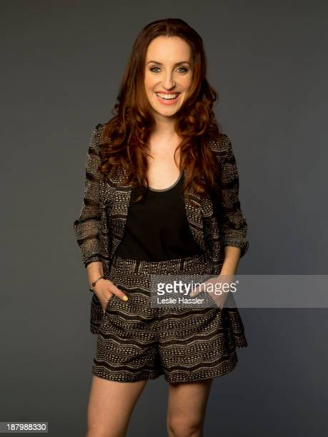 Actress Zoe Lister Jones is photographed for Self Assignment on April 25 2012 in New York City