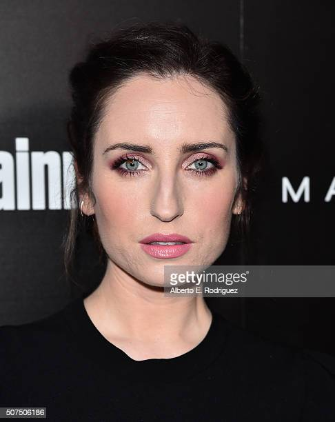 Actress Zoe ListerJones attends Entertainment Weekly's celebration honoring THe Screen Actors Guild presented by Maybeline at Chateau Marmont on...