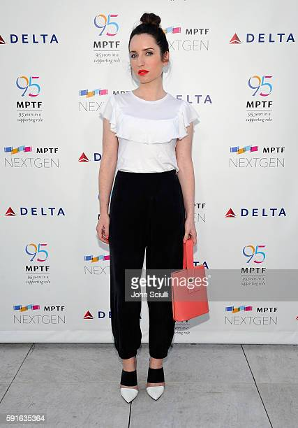 Actress Zoe ListerJones attends MPTF NextGen Launch Event at NeueHouse Los Angeles on August 17 2016 in Hollywood California