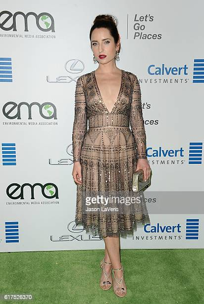 Actress Zoe ListerJones attends the 26th annual EMA Awards at Warner Bros Studios on October 22 2016 in Burbank California