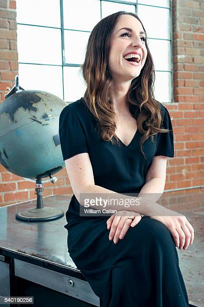Actress Zoe ListerJones is photographed for The Wrap on June 2 2016 in Los Angeles California PUBLISHED IMAGE