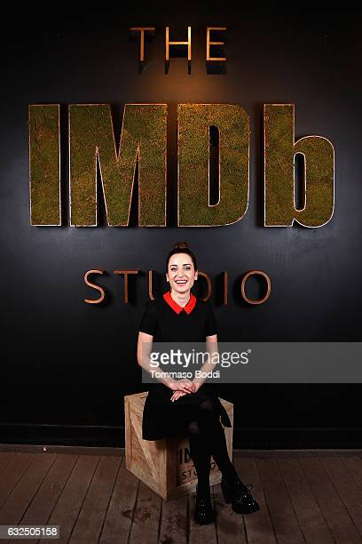 Actress Zoe ListerJones of 'Band Aid' attends The IMDb Studio featuring the Filmmaker Discovery Lounge presented by Amazon Video Direct Day Four...