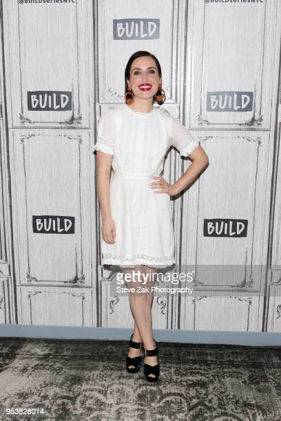"""Actress Zoe Lister-Jones visits Build Series to discuss """"Life in Pieces"""" at Build Studio on May 2, 2018 in New York City."""