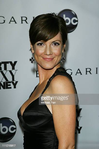 Actress Zoe McLellan arrives at the Dirty Sexy Money Premiere at Paramount Theatre on September 23 2007 in Hollywood California