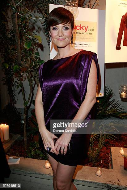 Actress Zoe McLellan attends the Lucky Guide to Mastering Any Style launch on October 2 2008 in Los Angeles California