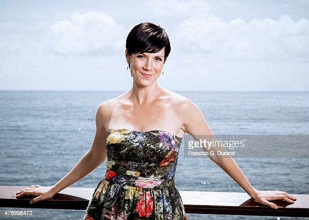 Actress Zoe McLellan poses for a portrait at the 55th Monte Carlo TV Festival at the Fairmont MonteCarlo on June 16 2015 in MonteCarlo Monaco