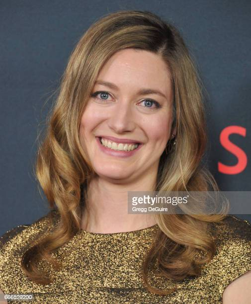 Actress Zoe Perry arrives at ABC's Scandal 100th Episode Celebration at Fig Olive on April 8 2017 in West Hollywood California