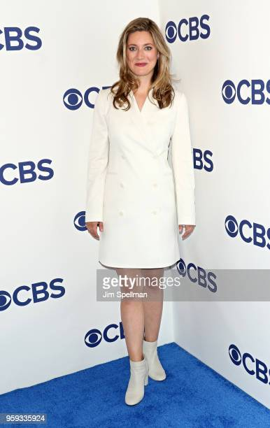 Actress Zoe Perry attends the 2018 CBS Upfront at The Plaza Hotel on May 16 2018 in New York City