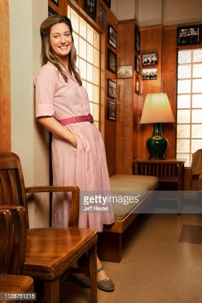 Actress Zoe Perry is photographed for Entertainment Weekly Magazine on August 10 2018 in Burbank California PUBLISHED IMAGE