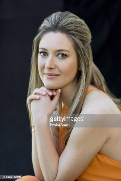 Actress Zoe Perry is photographed for The Hollywood Reporter on April 17 2018 in Los Angeles California