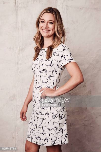 Actress Zoe Perry of CBS's 'Young Sheldon' is photographed during the 2017 Summer Television Critics Association Press Tour at The Beverly Hilton...