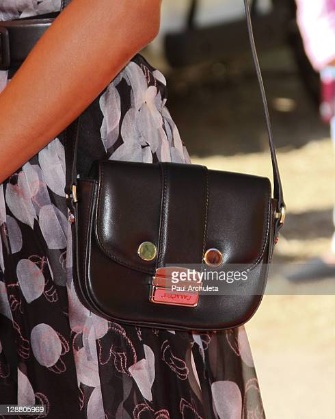 Actress Zoe Saldana arrives at the 2nd annual Veuve Clicquot polo classic at Will Rogers State Historic Park on October 9, 2011 in Pacific Palisades,...