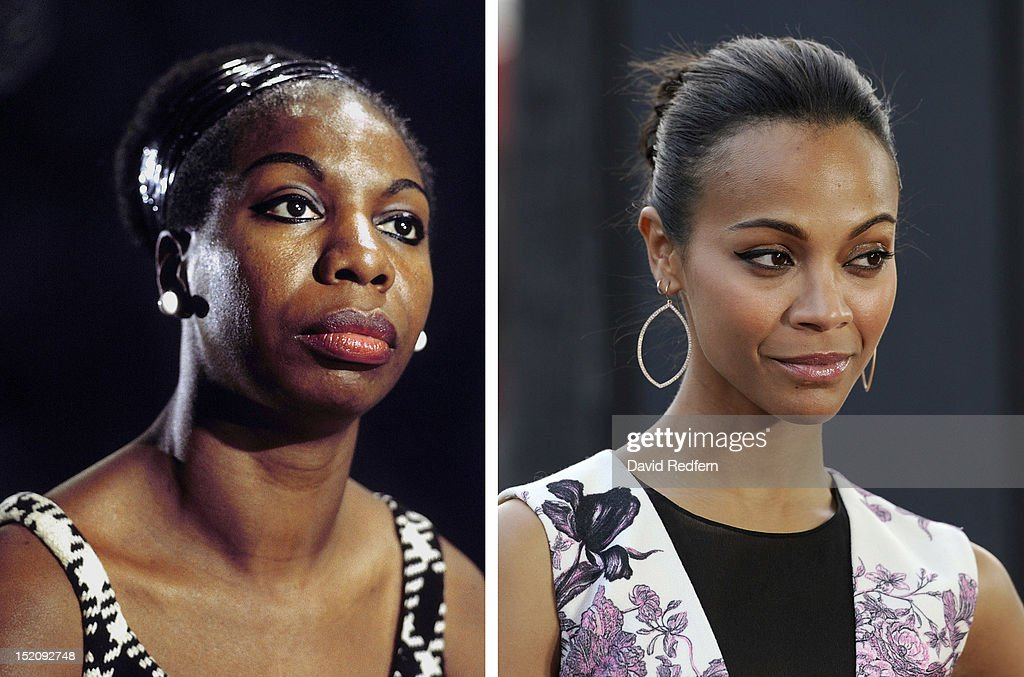 FILE PHOTO:  Actress Zoe Saldana To Play Nina Simone In Biopic Role : News Photo
