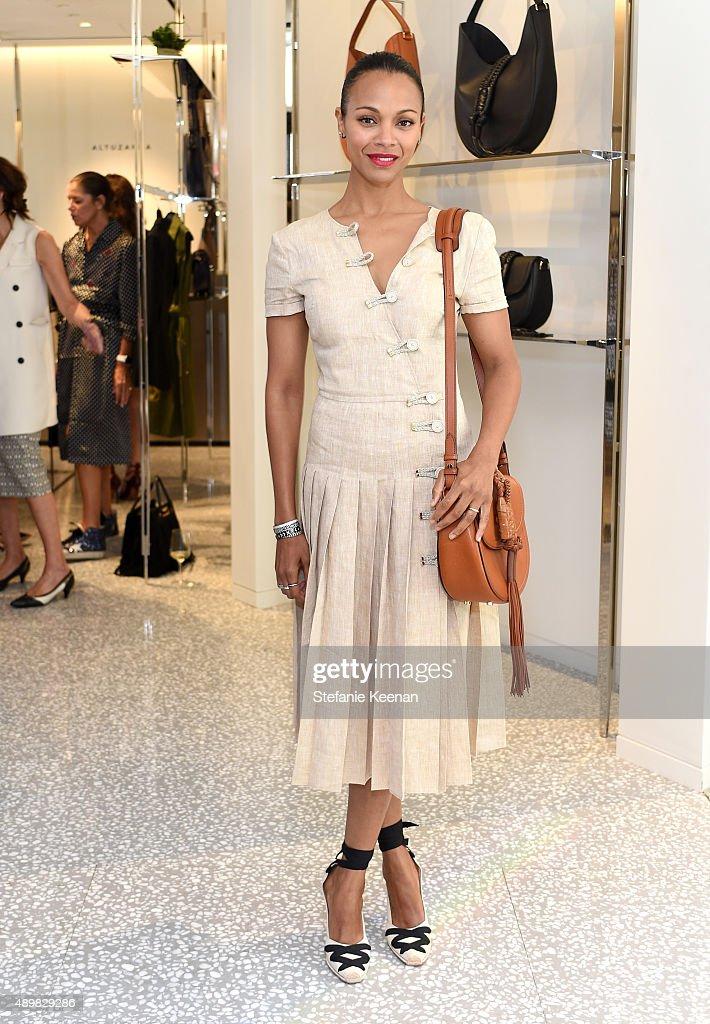 Barneys New York, Zoe Saldana, And Petra Flannery Host A Luncheon For Joseph Altuzarra